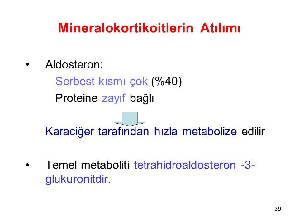 Mineralokortikoitlerin Atılımı