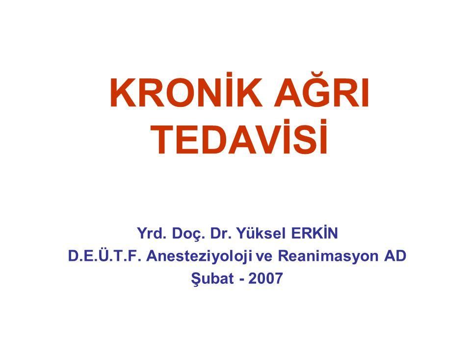 D.E.Ü.T.F. Anesteziyoloji ve Reanimasyon AD