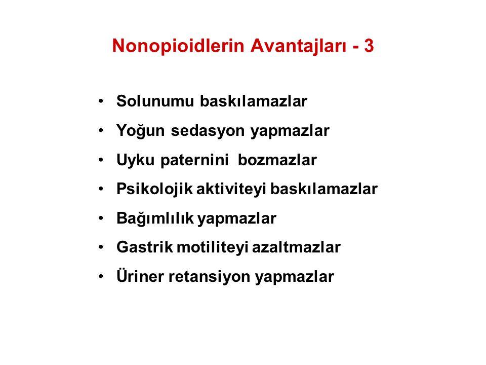 Nonopioidlerin Avantajları - 3