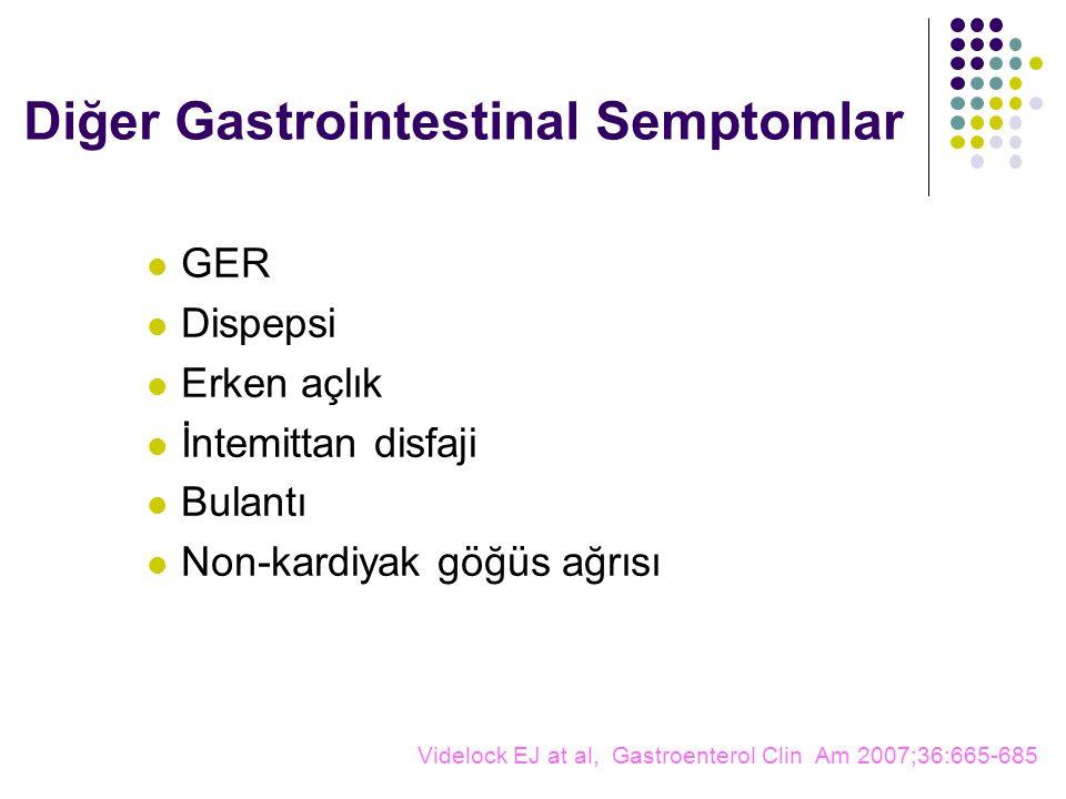 Diğer Gastrointestinal Semptomlar