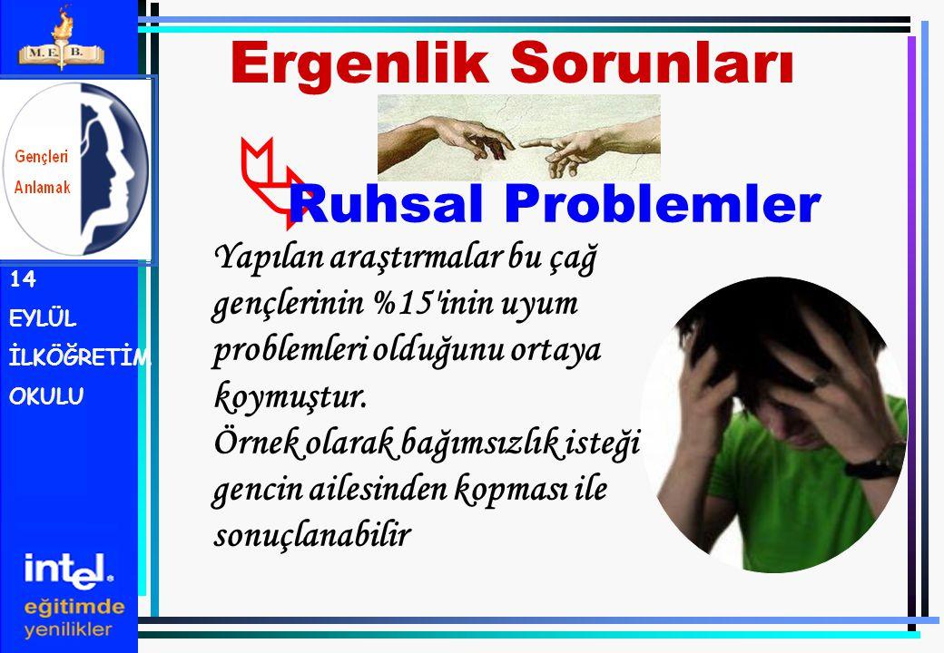 Ergenlik Sorunları Ruhsal Problemler