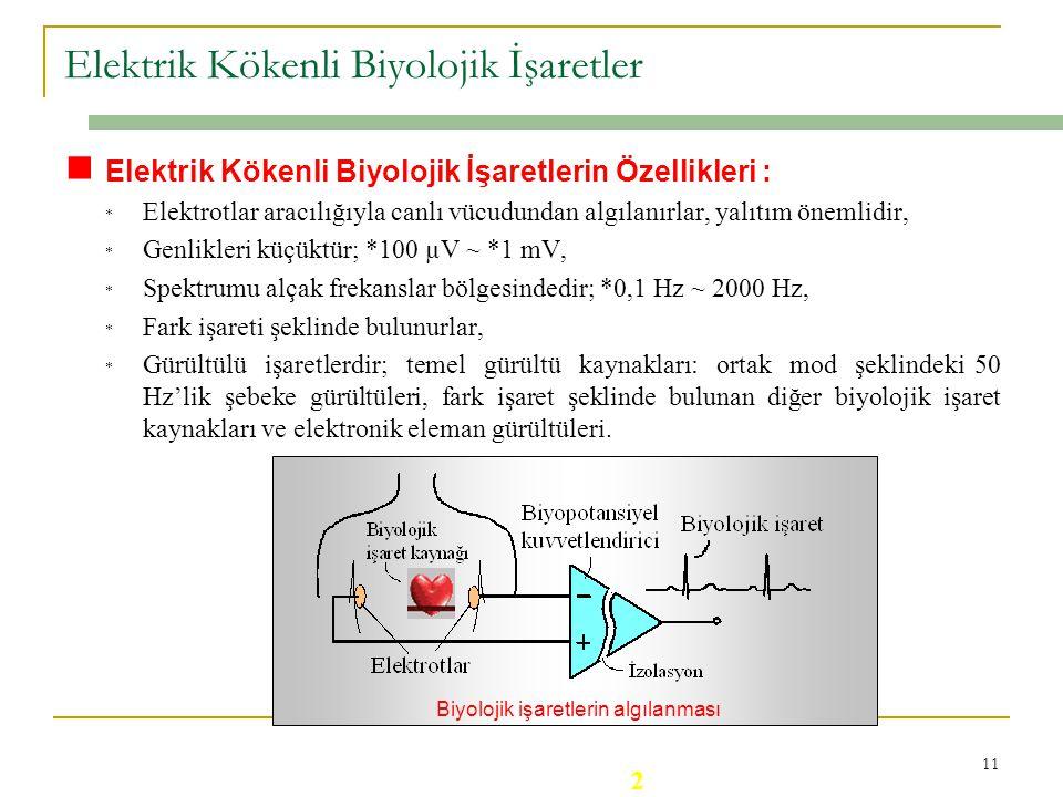 Elektrik Kökenli Biyolojik İşaretler