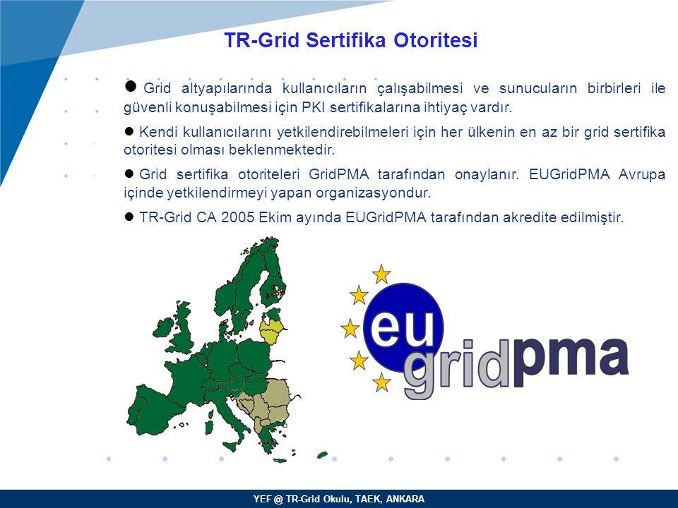 TR-Grid Sertifika Otoritesi