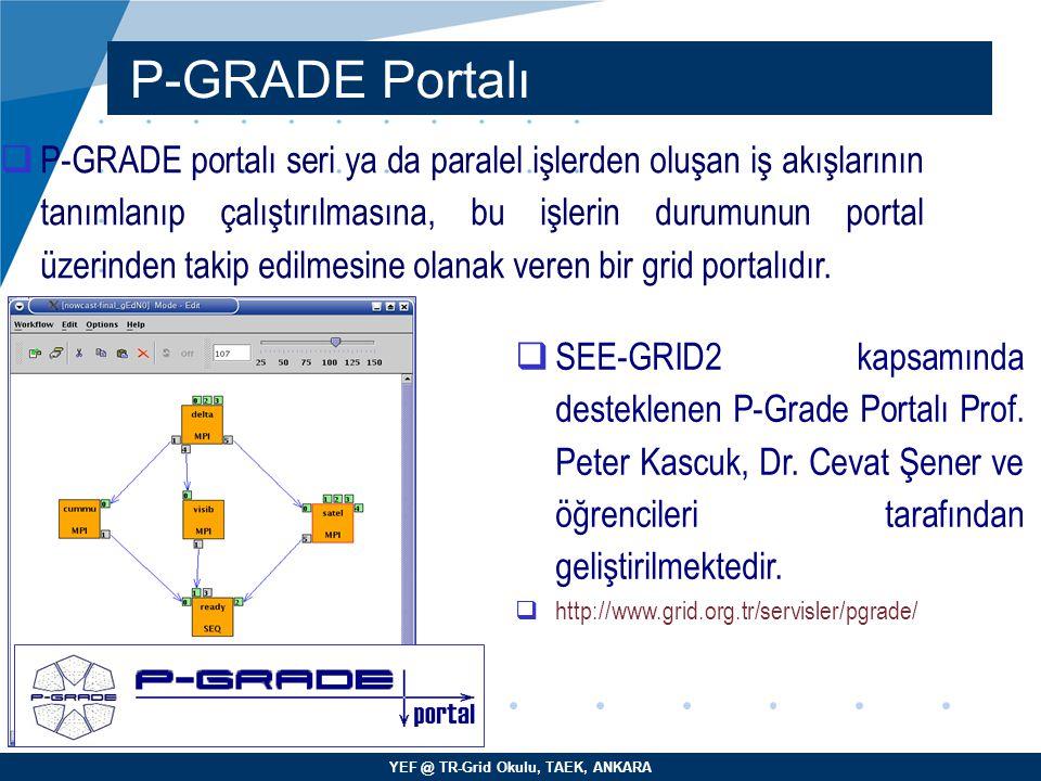 P-GRADE Portalı