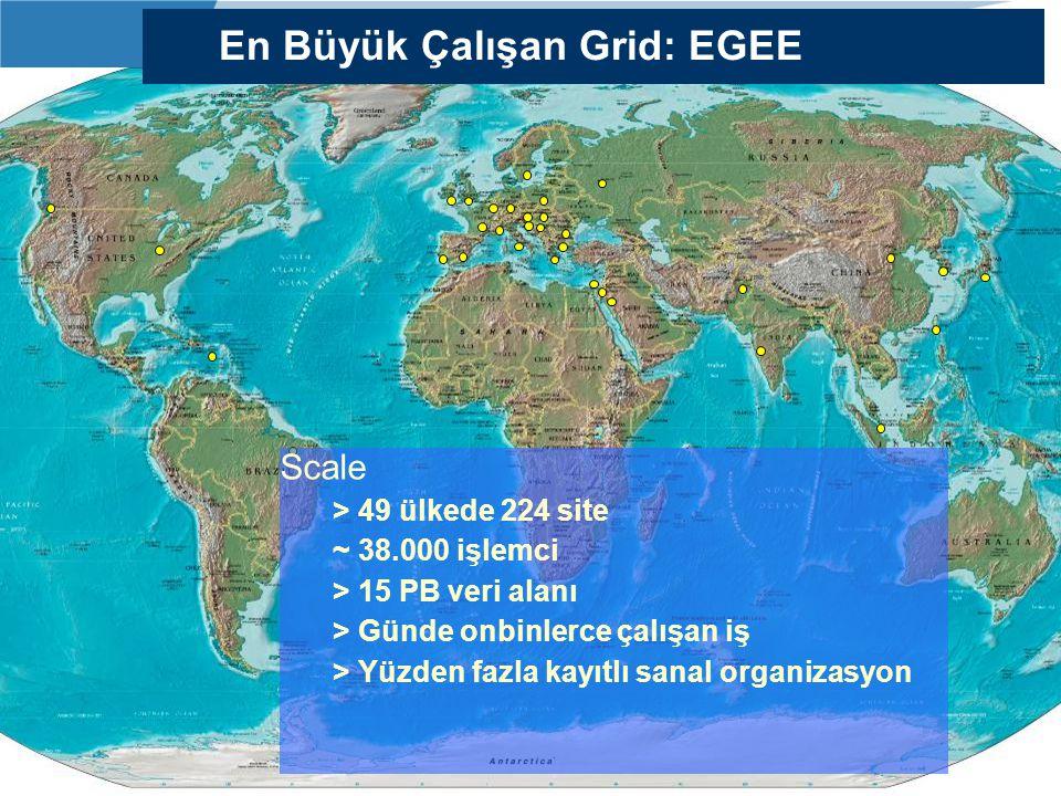 En Büyük Çalışan Grid: EGEE
