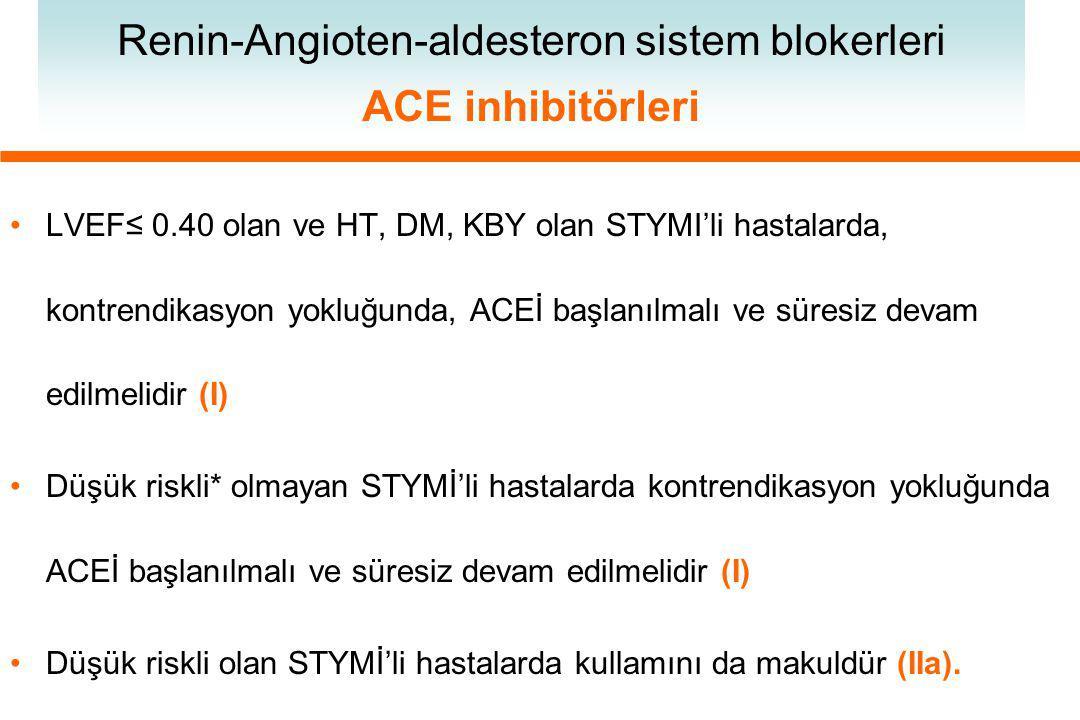 Renin-Angioten-aldesteron sistem blokerleri