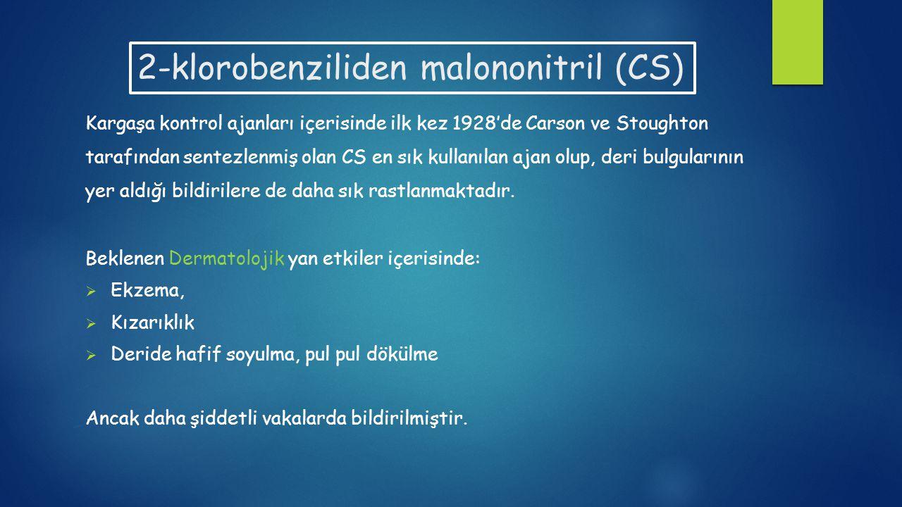 2-klorobenziliden malononitril (CS)