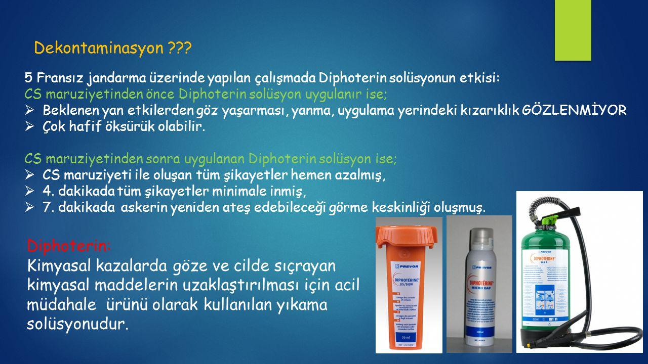 Dekontaminasyon Diphoterin: