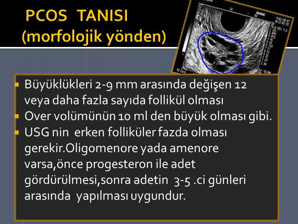 PCOS TANISI (morfolojik yönden)