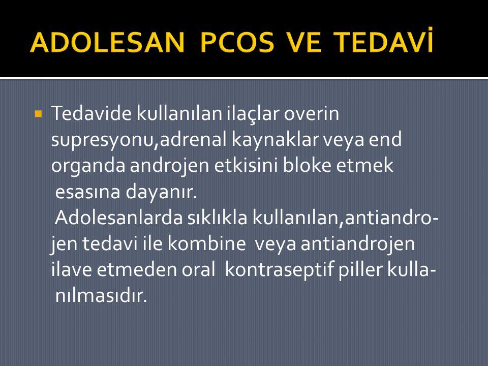 ADOLESAN PCOS VE TEDAVİ