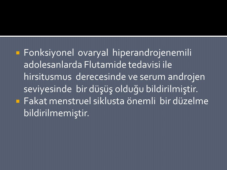 Fonksiyonel ovaryal hiperandrojenemili