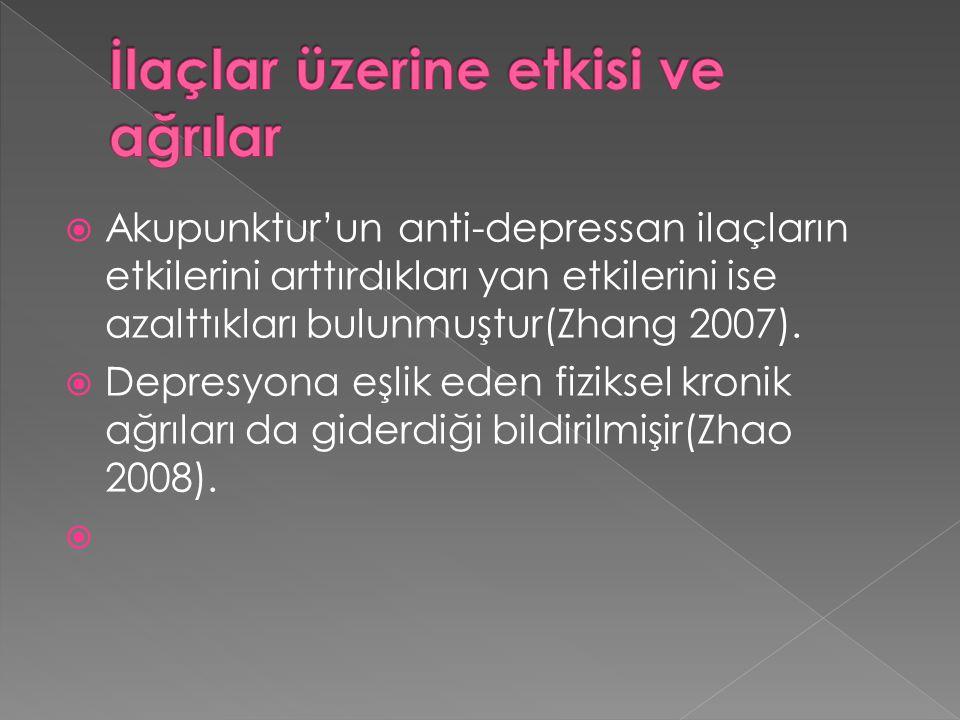 İlaçlar üzerine etkisi ve ağrılar