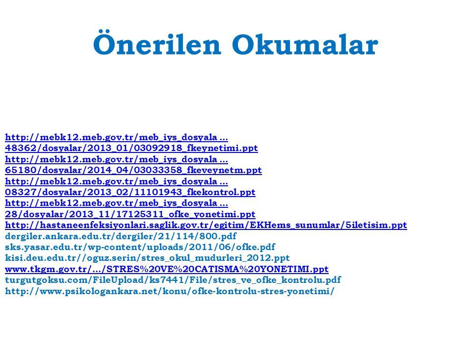 Önerilen Okumalar http://mebk12.meb.gov.tr/meb_iys_dosyala ... 48362/dosyalar/2013_01/03092918_fkeynetimi.ppt.