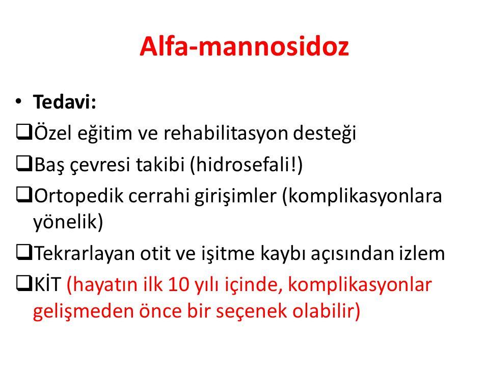 Alfa-mannosidoz Tedavi: Özel eğitim ve rehabilitasyon desteği