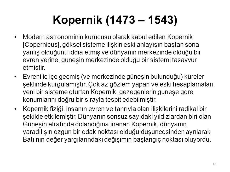 Kopernik (1473 – 1543)