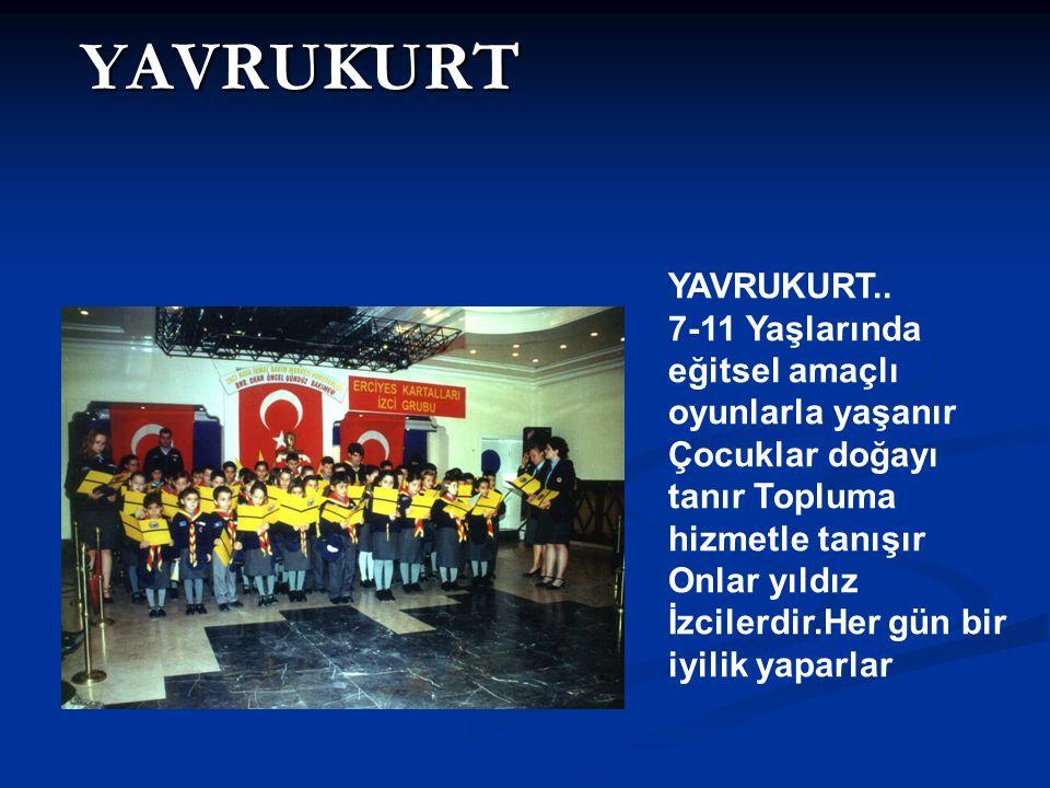 YAVRUKURT YAVRUKURT.. 7-11 Yaşlarında eğitsel amaçlı oyunlarla yaşanır
