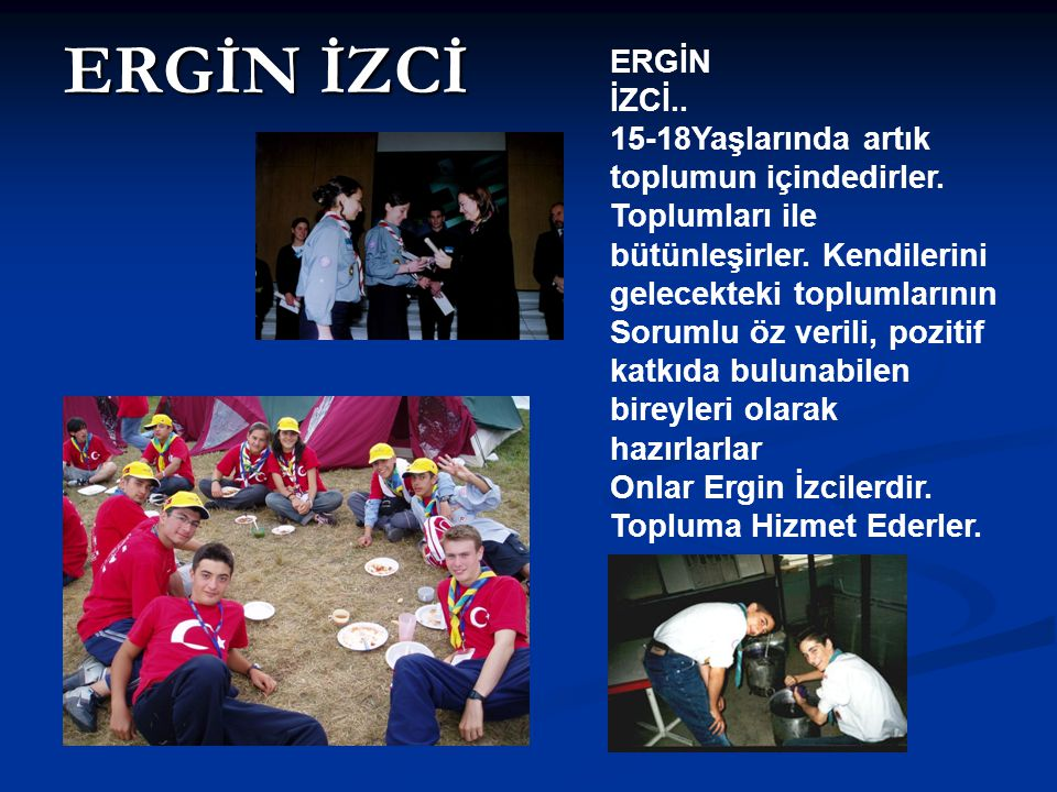 ERGİN İZCİ ERGİN. İZCİ..