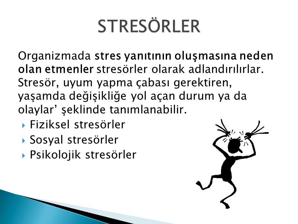 STRESÖRLER