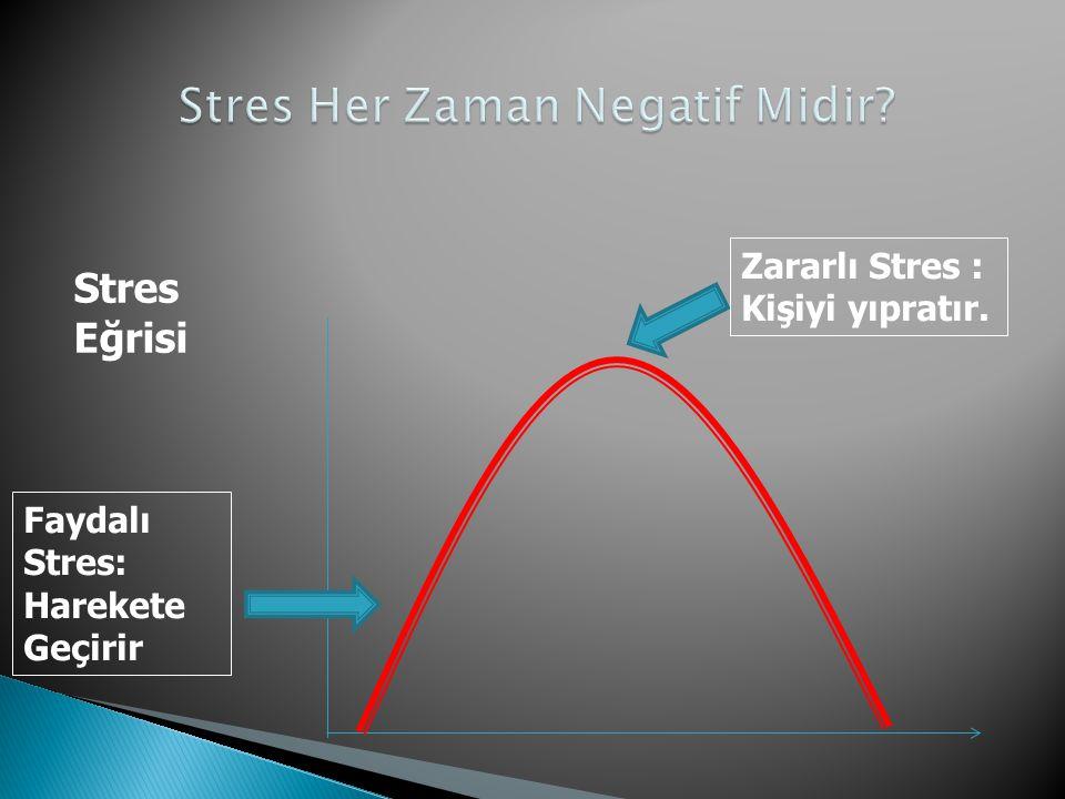 Stres Her Zaman Negatif Midir