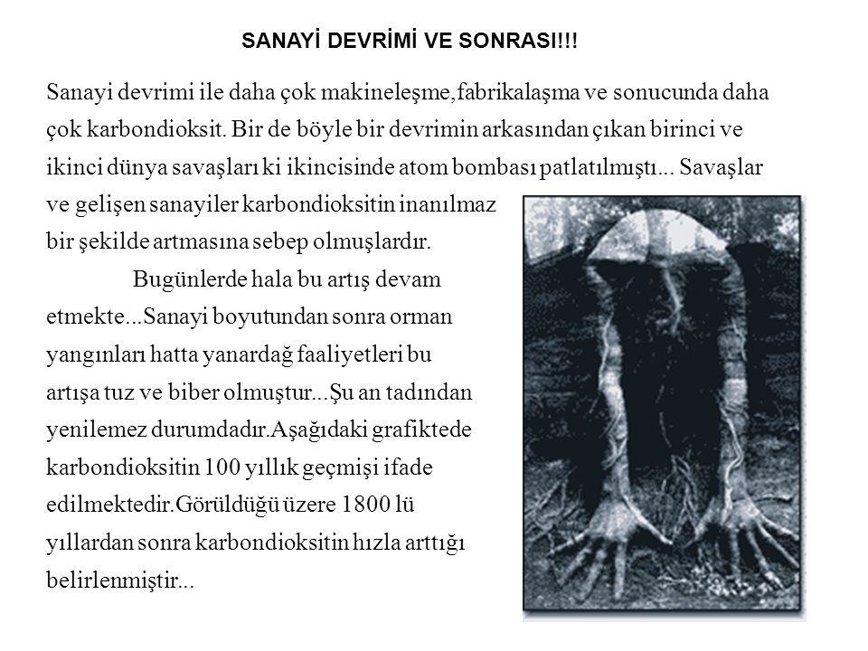 SANAYİ DEVRİMİ VE SONRASI!!!