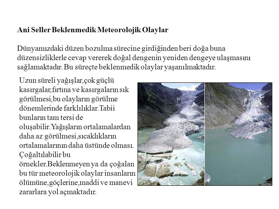 Ani Seller Beklenmedik Meteorolojik Olaylar