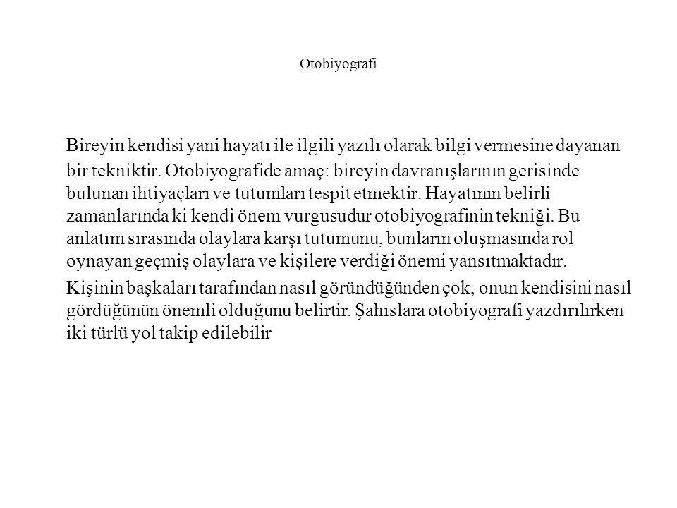 Otobiyografi