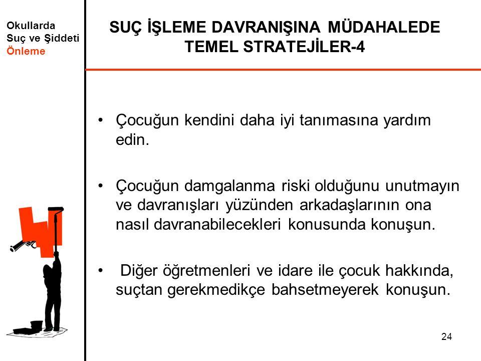 SUÇ İŞLEME DAVRANIŞINA MÜDAHALEDE TEMEL STRATEJİLER-4