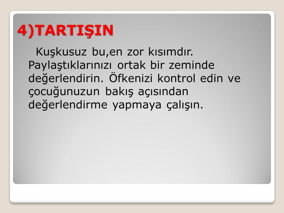 4)TARTIŞIN