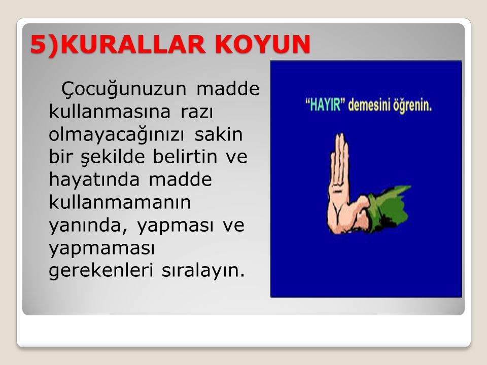 5)KURALLAR KOYUN