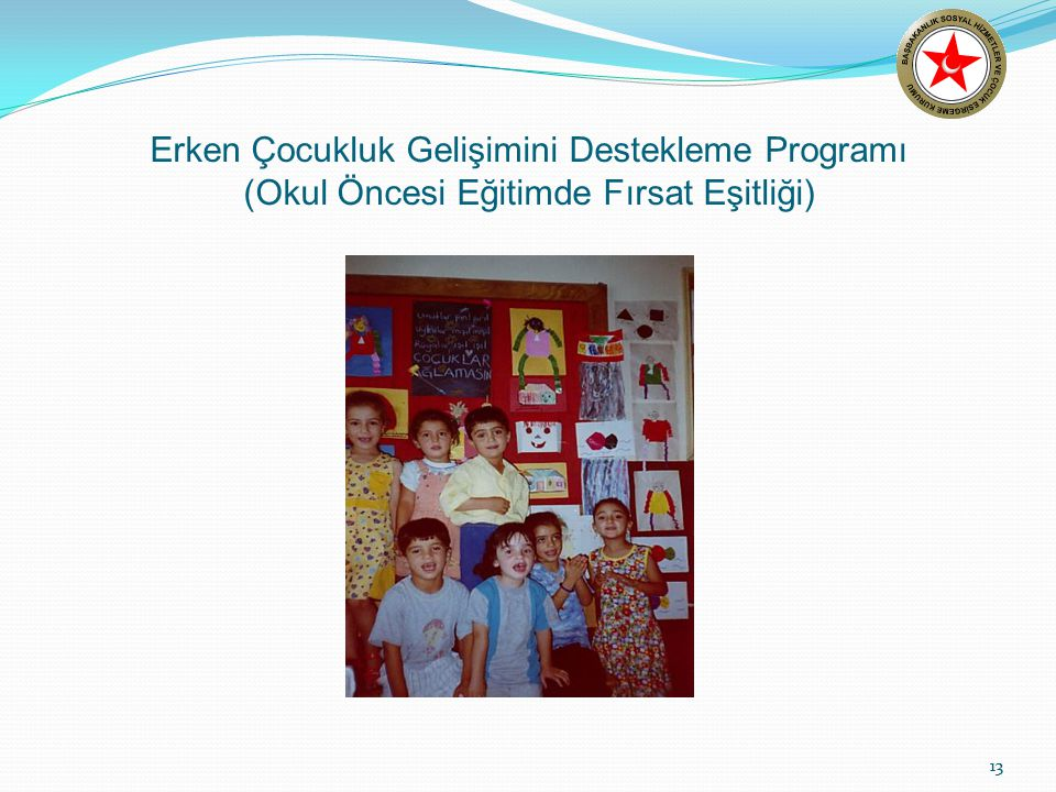 Erken Çocukluk Gelişimini Destekleme Programı (Okul Öncesi Eğitimde Fırsat Eşitliği)