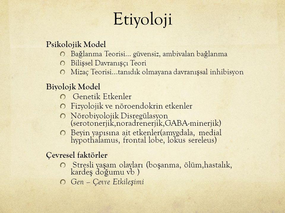 Etiyoloji Biyolojk Model Genetik Etkenler