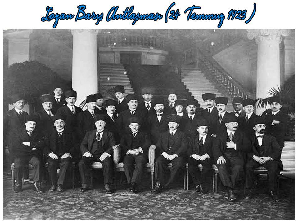 20 Kasım 1922 de Lozan görüşmeleri başladı