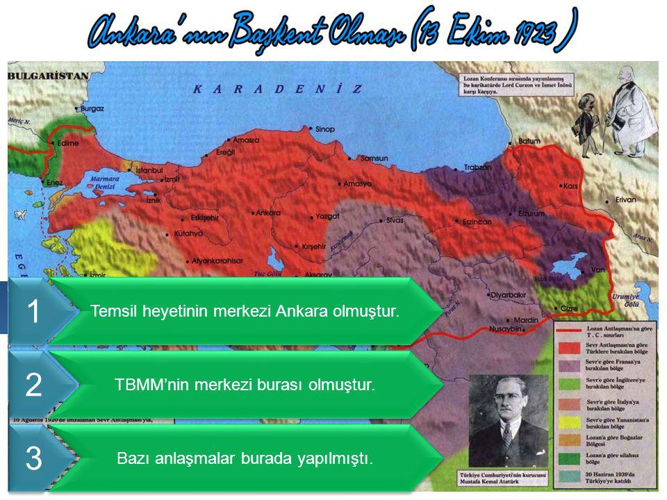 1 2 3 Cumhuriyet öncesi Ankara'da hangi