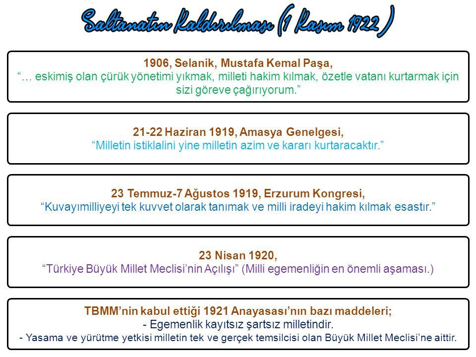 1906, Selanik, Mustafa Kemal Paşa,
