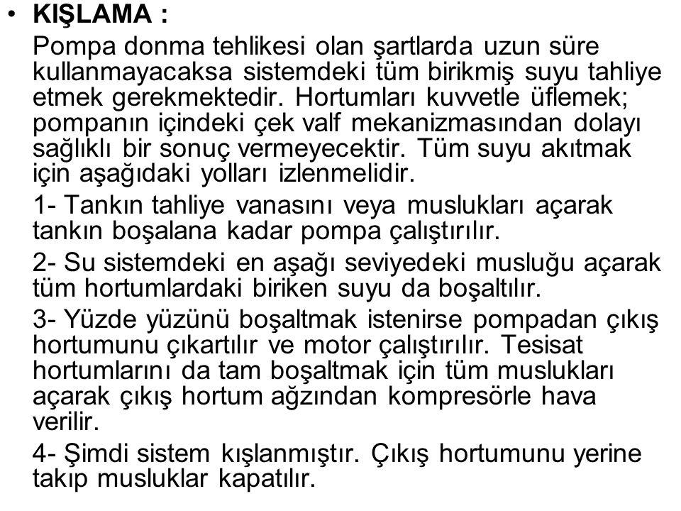 KIŞLAMA :