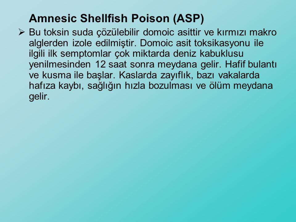 Amnesic Shellfish Poison (ASP)