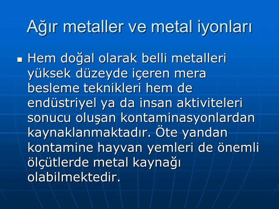 Ağır metaller ve metal iyonları
