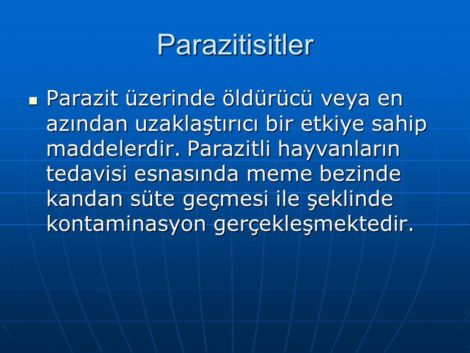 Parazitisitler