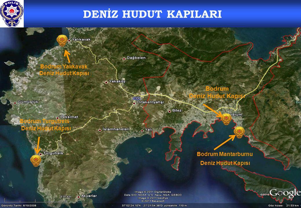 DENİZ HUDUT KAPILARI Bodrum Deniz Hudut Kapısı Bodrum Yalıkavak