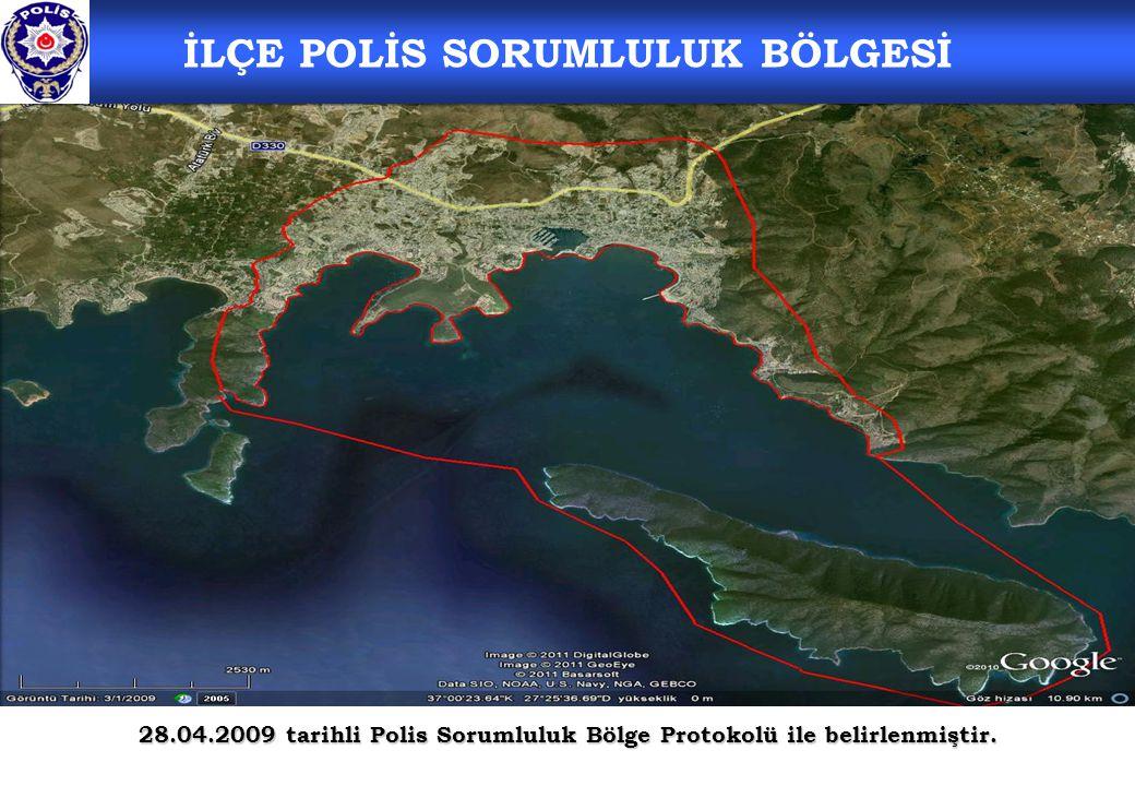 İLÇE POLİS SORUMLULUK BÖLGESİ