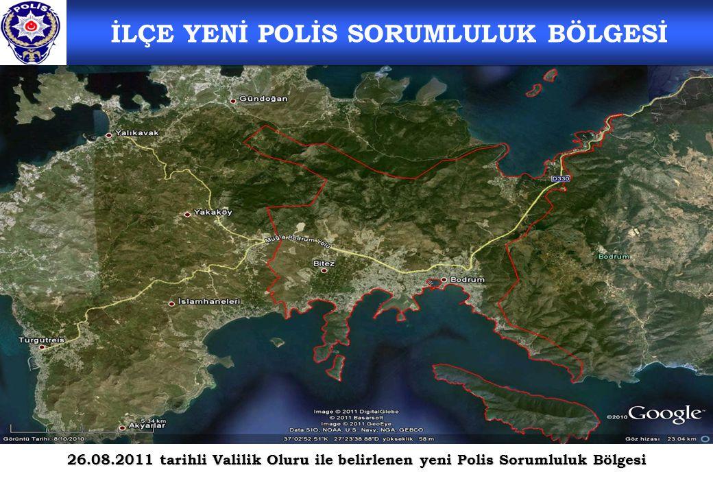 İLÇE YENİ POLİS SORUMLULUK BÖLGESİ
