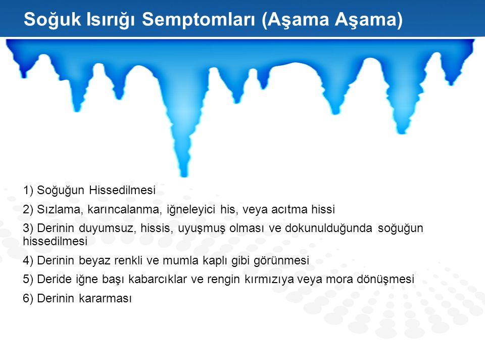 Soğuk Isırığı Semptomları (Aşama Aşama)