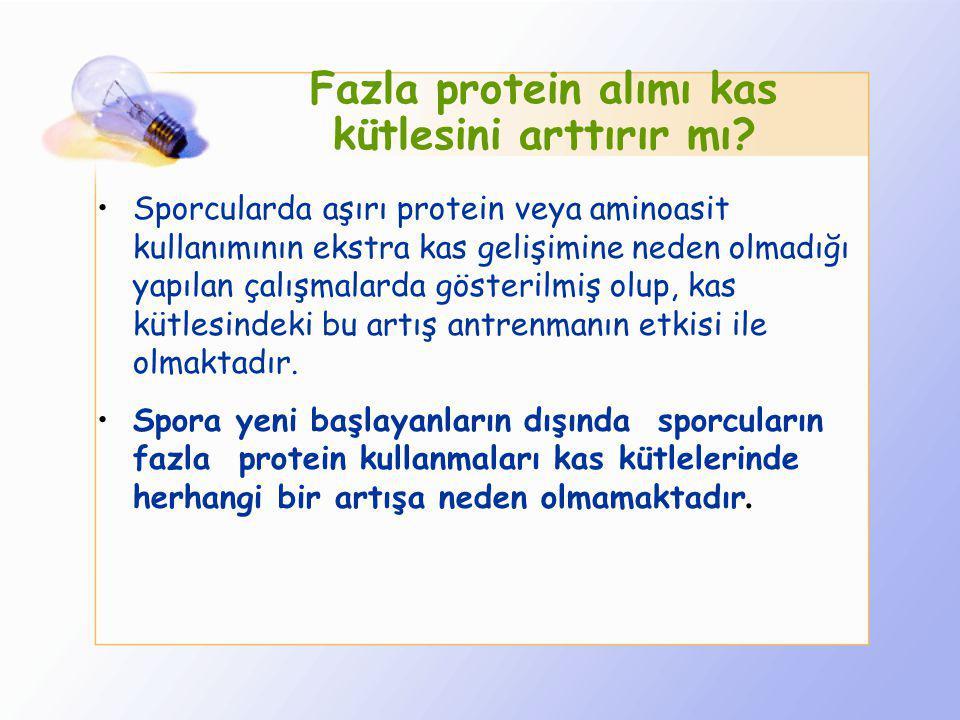 Fazla protein alımı kas kütlesini arttırır mı