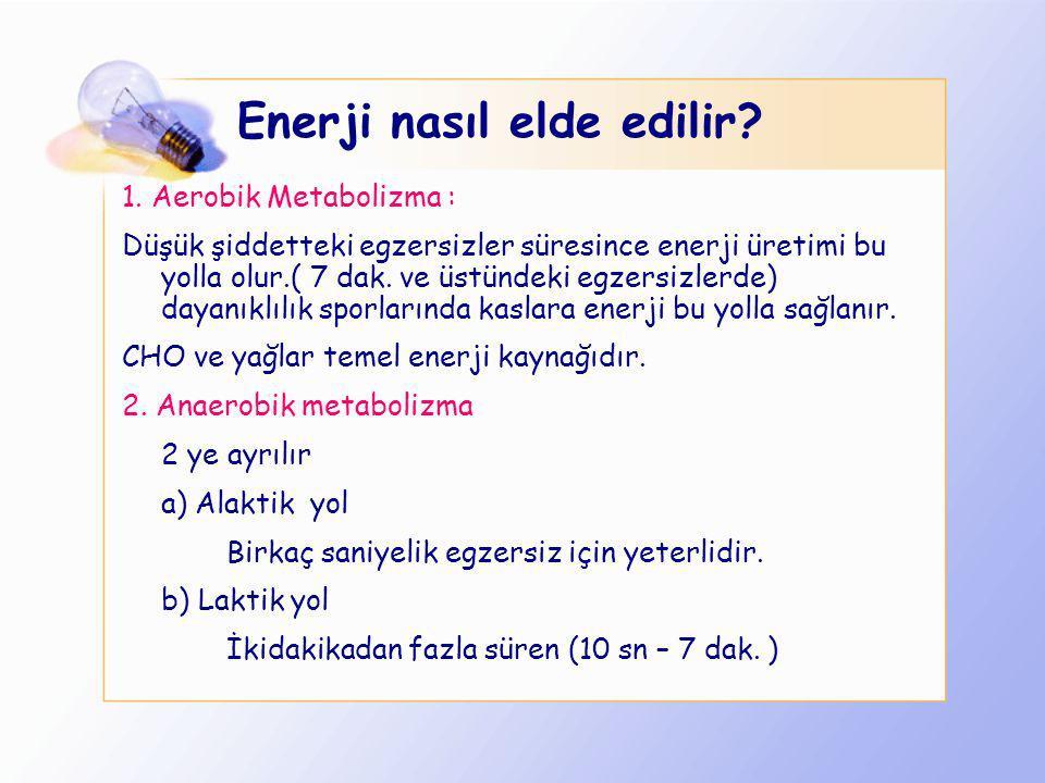 Enerji nasıl elde edilir