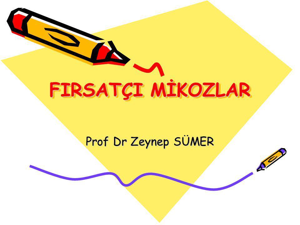 FIRSATÇI MİKOZLAR Prof Dr Zeynep SÜMER