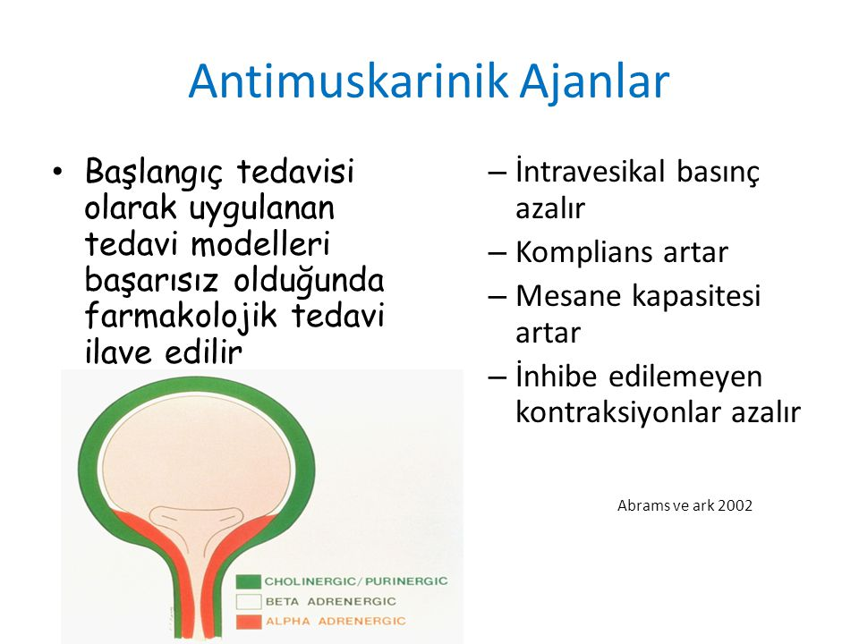 Antimuskarinik Ajanlar
