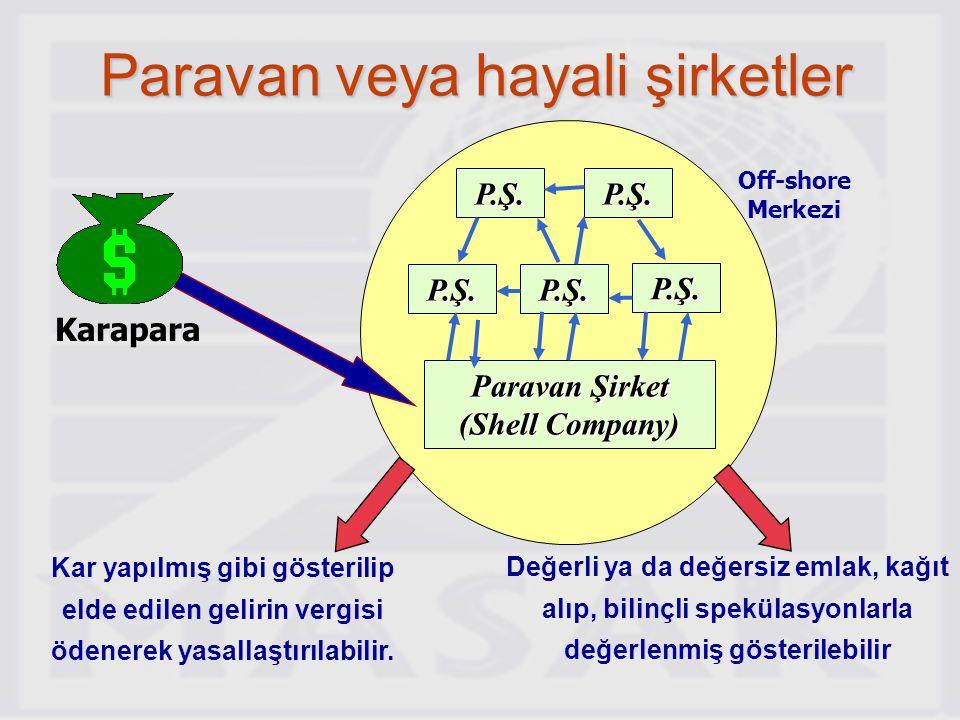 Paravan Şirket (Shell Company)