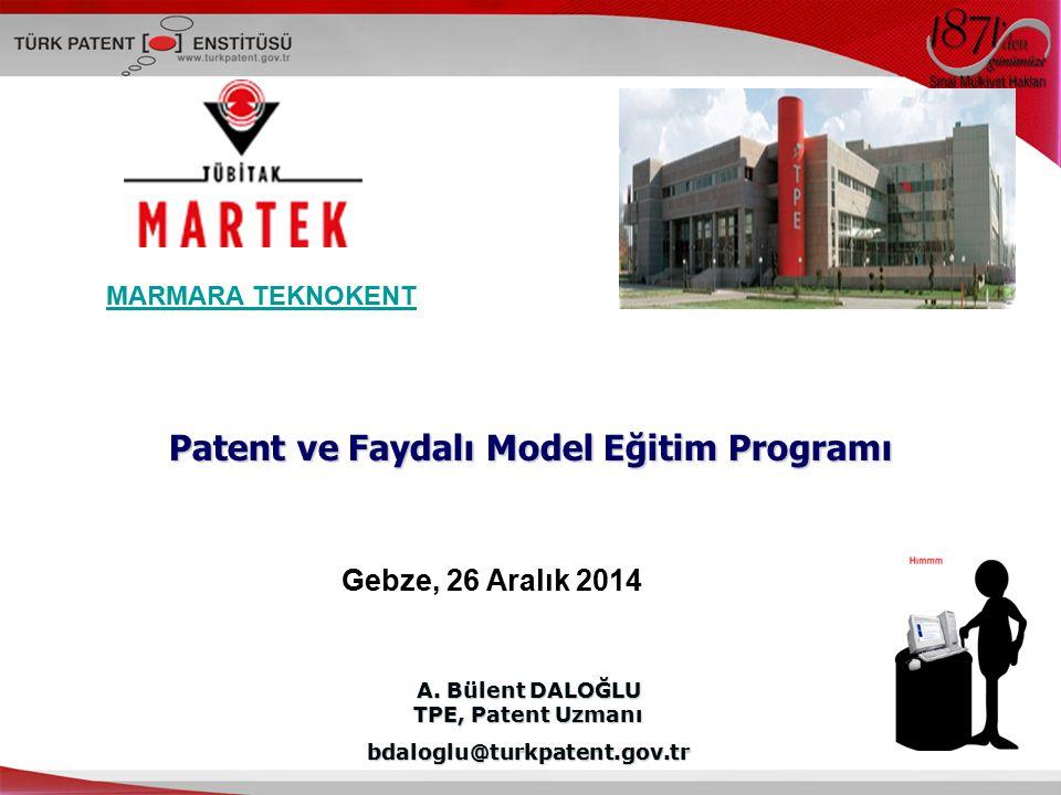 Patent ve Faydalı Model Eğitim Programı