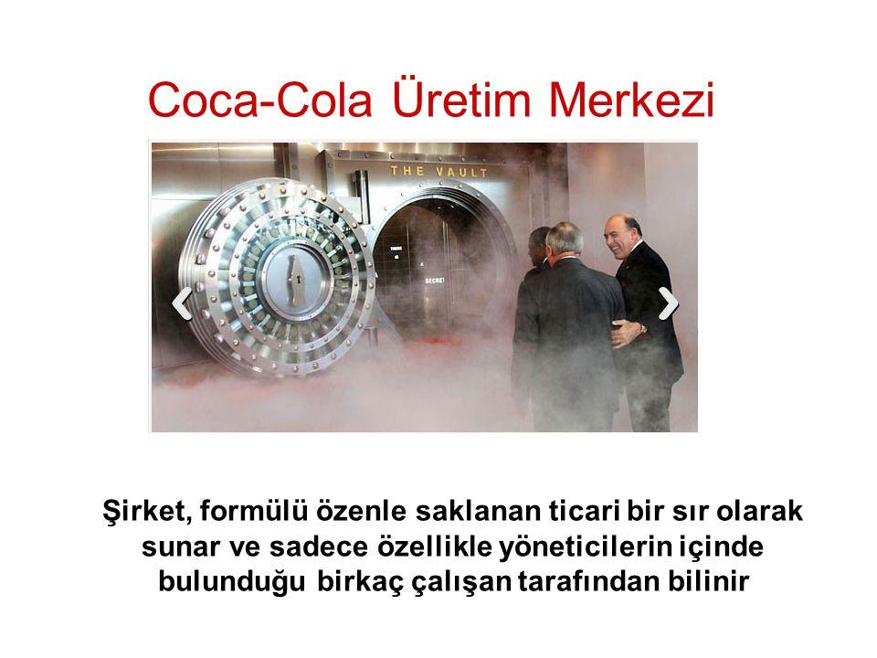 Coca-Cola Üretim Merkezi