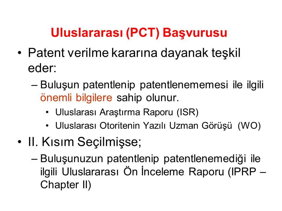 Uluslararası (PCT) Başvurusu